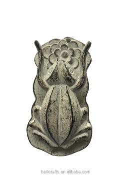 Wrought Iron Frog Door Knocker For Home