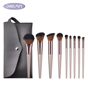 Private Label 9pcs Make-up Professional Cosmetics Makeups 8pcs Cosmetic Brush Kits