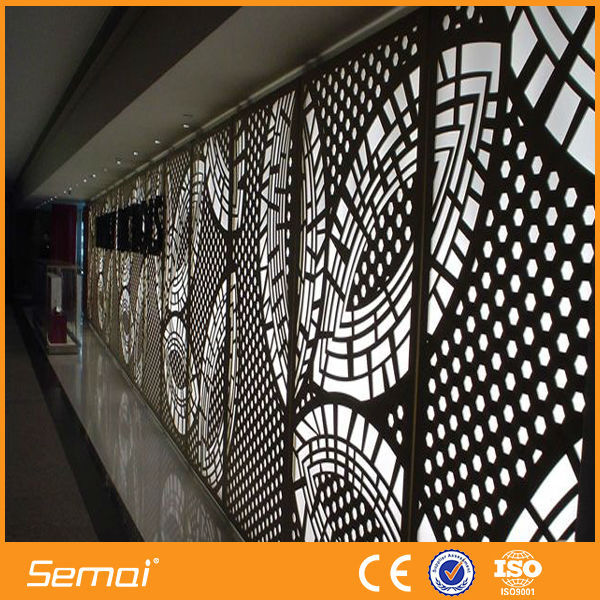aluminium stainless steel perforated decorative sheet metal panels - Decorative Sheet Metal