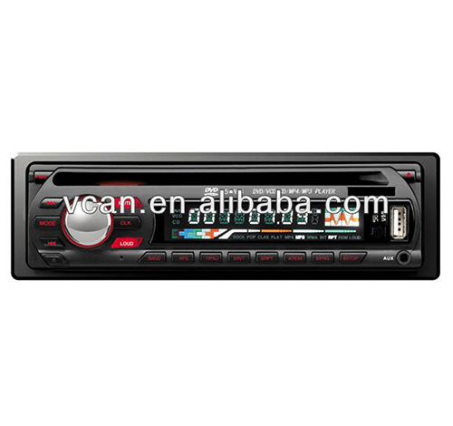 Vcan0740 dvd dvcd mp3 mp4 cd USB-kompatibel player autoradio