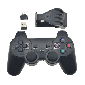 wholesale controller 2.4G gamepad for sony playstation 3 for PS3 TV PC joystick for smartphone fast shipping with adapter