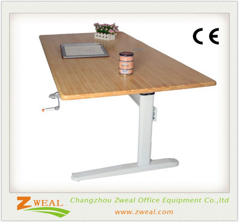 electric single motor 2-& 3-column sit/stand table height adjustable desk frame high quality office desks