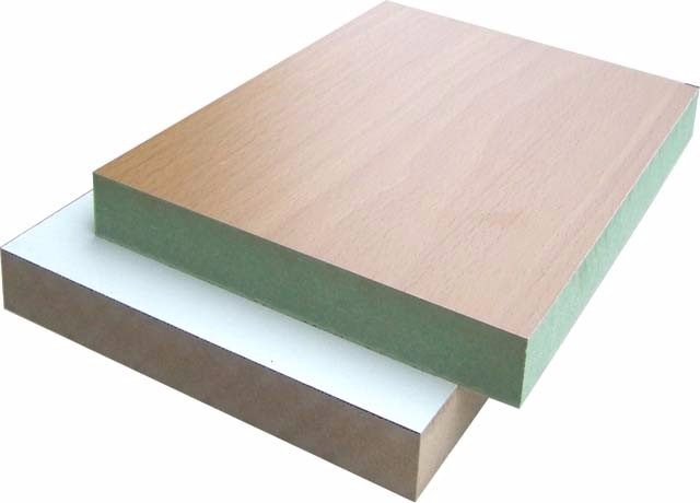 Mm white melamine faced laminated mdf board buy