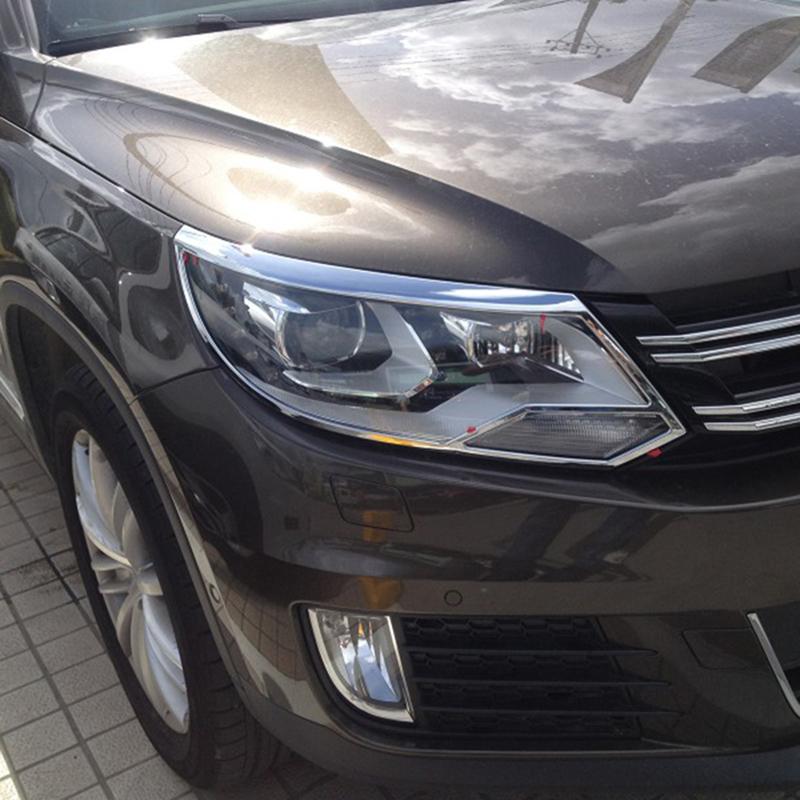 High Quality Car Styling ABS Chrome Car Headlight Head