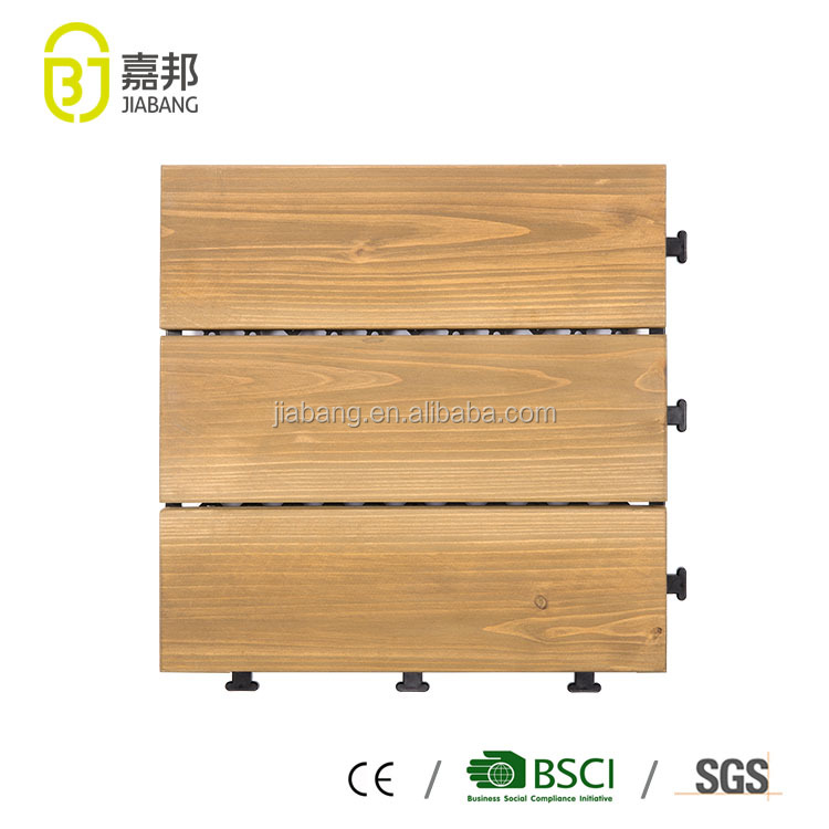 cheap Foshan building materials interlock parquet wooden floor tiles made by Fir wood wholesale mexican