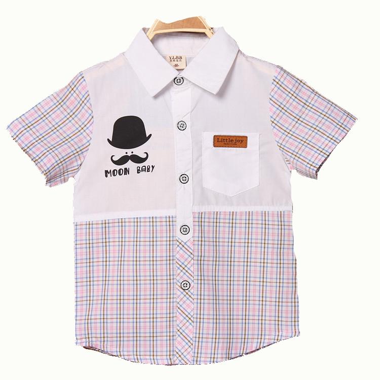 9280edbb34b5 Buy 2015 New Baby Boys Shirts Summer Style Kids Polo Shirt Turn Down Collar  Kids Boy Cotton Fashion Boy Clothing Outfits in Cheap Price on Alibaba.com