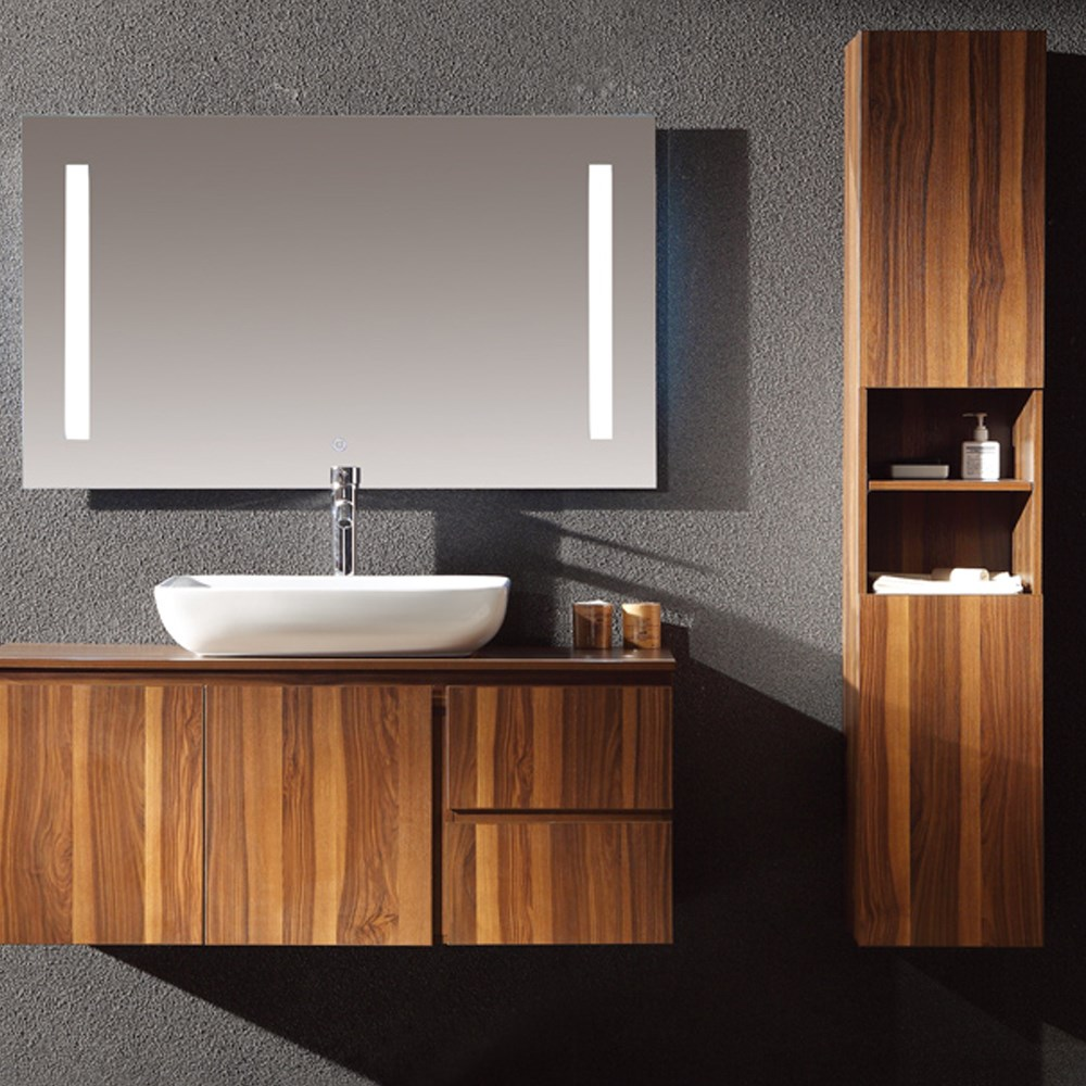 38 Inch Wall Hang Custom European Distressed Oak Bathroom Vanities