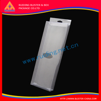 high durable recycled Battery Charger printed plastic PVC packing box