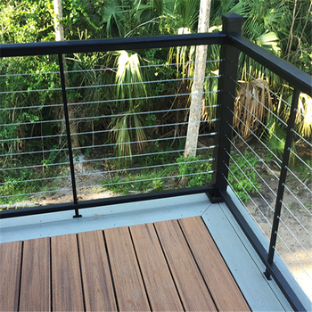 Metal Wire Balustrade Manufacturer For Deck And Balcony
