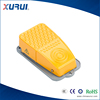 10a 250v aluminum material electric foot pedal switch for industrial equipment