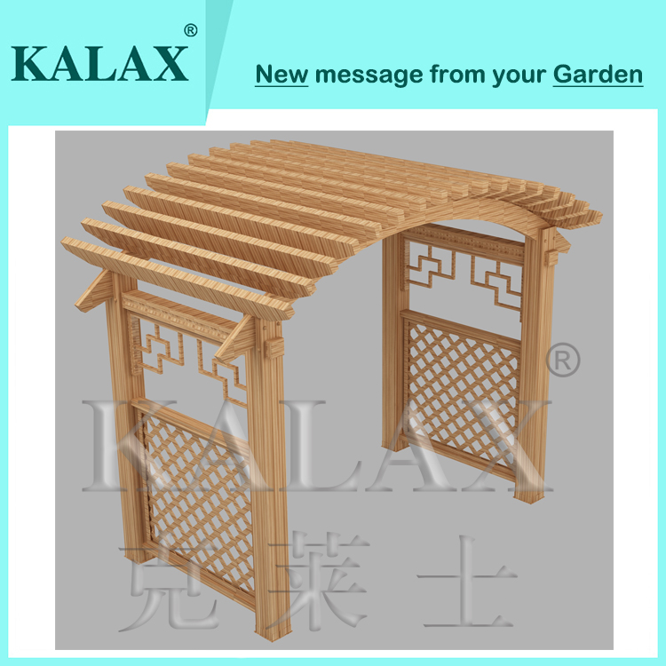 Good quality Chinese style wood type metal/aluminum profile pergola for  factory price - Good Quality Chinese Style Wood Type Metal/aluminum Profile Pergola