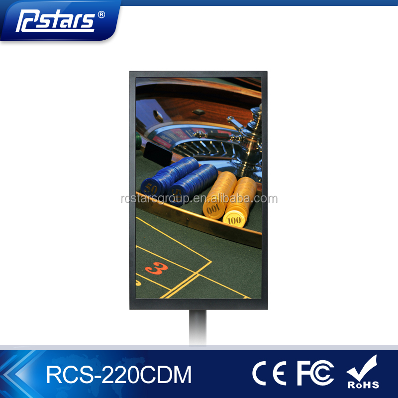 Rcstars 22inch TFT monitor double sided roulette display