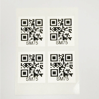 QR /bar code label stickers