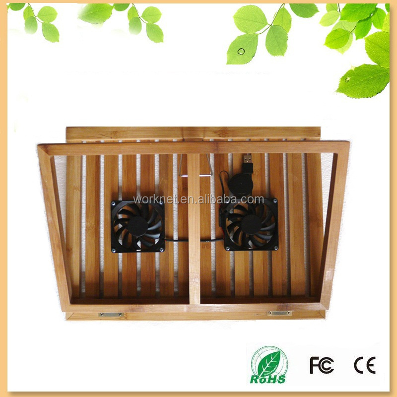 China factory notebook pad in bamboo with fan