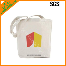 Eco promotional cotton cavans carry bag with printing