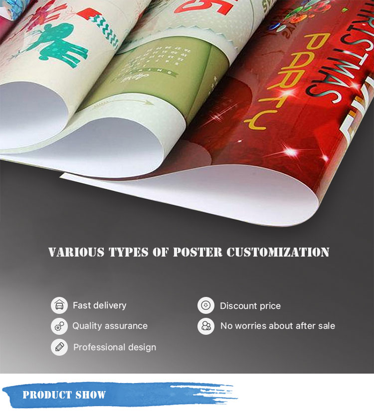 "Size 20"" X 14"" custom printing movie wall Poster"