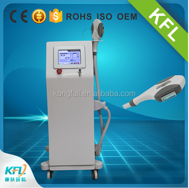Permanent SHR hair removal for whole body depilation beauty salon equipment