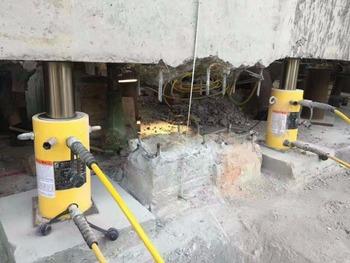 House Lifting Jacks Double Acting High Tonnage Hydraulic Cylinder