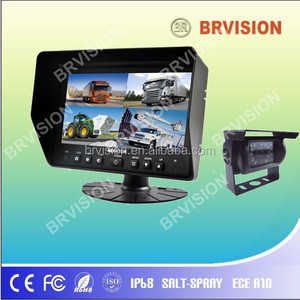 "7"" Rear View System With car back up camera for vehicle/taxi/bus/truck"