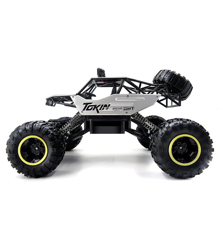 3. 6026E_Silver_2.4G_4WD_Off-Road_Buggy_Rc_Climbing_Car_Remote_Control_Alloy_Car