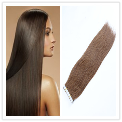 Hot Sale Tape Hair Extensions 40pcs Lot Ombre Silky Straight Brazilian Virgin Remy Skin