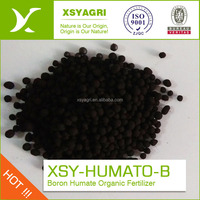 Black granule Boron Humate with 10% min B2O3 for retaining water and fight drought Industry Vietnam