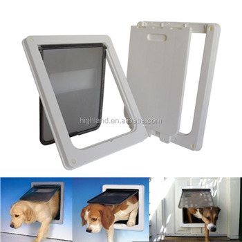 Pet Door The Dog Cathole Big Dog Door Freely In And Out Of The