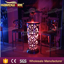led commercial luminous portable bar chair and table furniture for sales