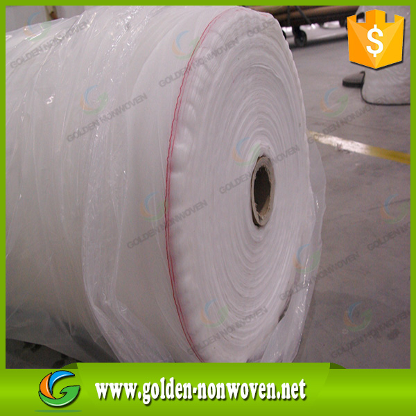Make-to-order 100% pp material nonwoven fabric,roll packaging nonwoven fabric wholesale,waterproof non woven texitiles