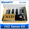 hot sale hid xenon kit 12v 55w slim ballast single lamp h1/h3/h7/h11/9005/9006