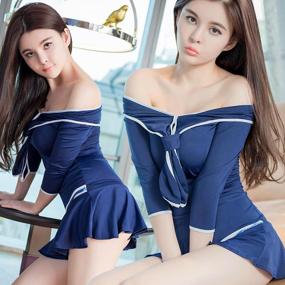 Sexy japanese women in uniform — img 7