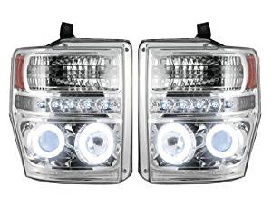 Recon Accessories 264196CLCC Headlight Assembly by Recon
