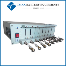 li-ion battery test equipment for coin cell battery & pouch cell & cylindrical battery