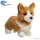 Corgi Soft Toys Cute Dog Stuffed Doll Customized Animal Toys
