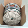 Midstar wet/dry flexible polishing pads for Angle Grinder machine