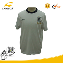factory outlets white england football shirt