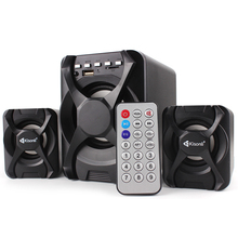 Bass Draadloze Home Theater Matel <span class=keywords><strong>Afstandsbediening</strong></span> USB 2.1 Luidsprekers Systeem Parlantes