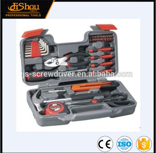 Hot selling 39pcs diy lady tool kit/socket set with CE certificate
