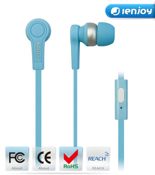 Ienjoy 2016 new hot selling OEM cheap earphone,china in ear headphone with earphone pouch