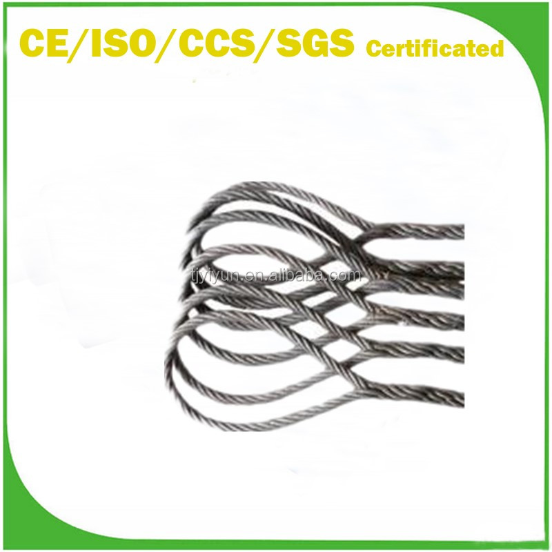 Soft Eye Wire Rope Sling With Galvanized Coated With One To 5 Legs ...