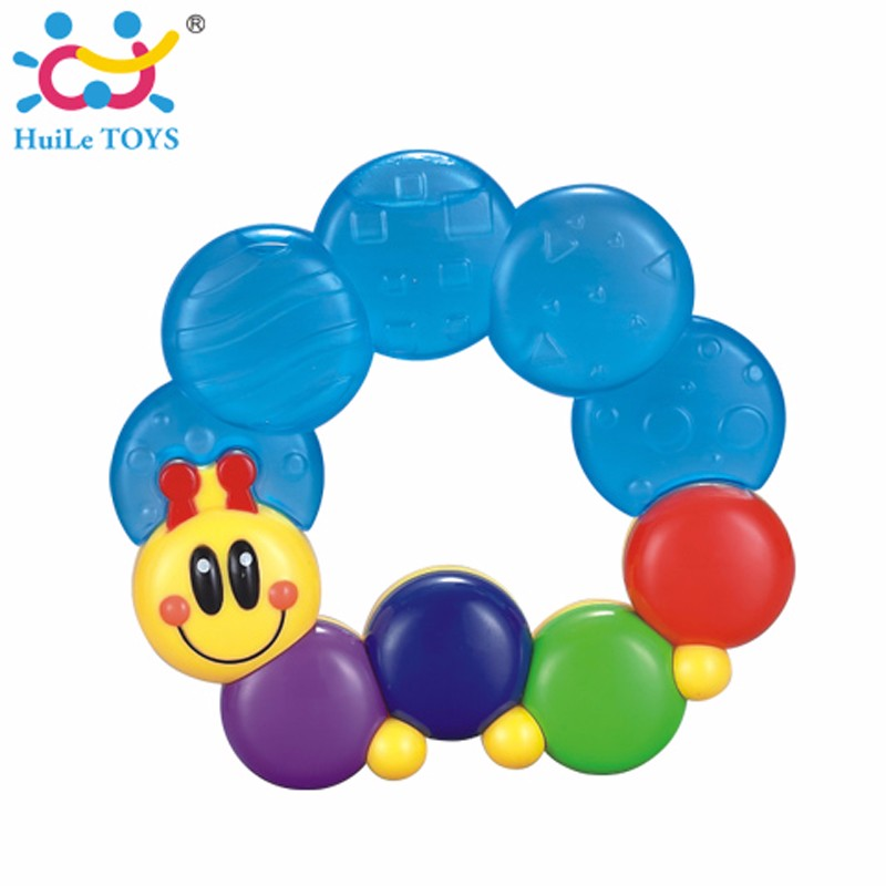 Funny plastic teether for baby