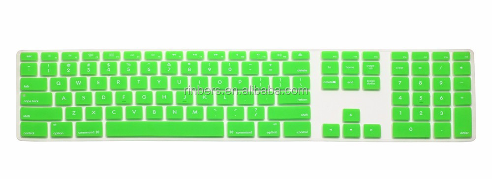 Hot Sale 20 Colors Silicone Keyboard Cover Skin For Apple Imac ...