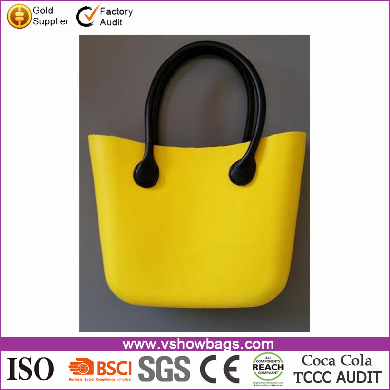 fashion funky beach bag silicone beach shoulder bag for women's holiday bags