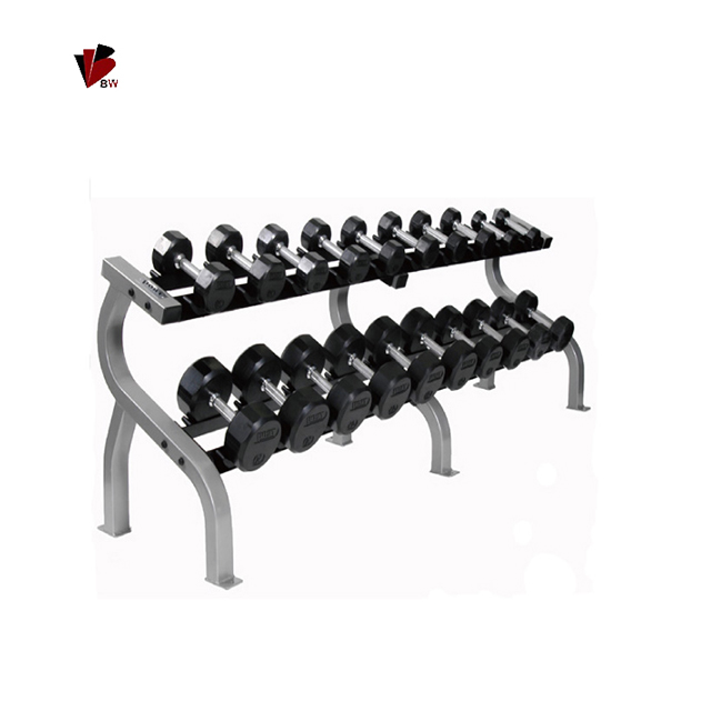 2 Tiers Dumbbell Rack Gym <strong>Equipment</strong> Fitness <strong>Equipment</strong>