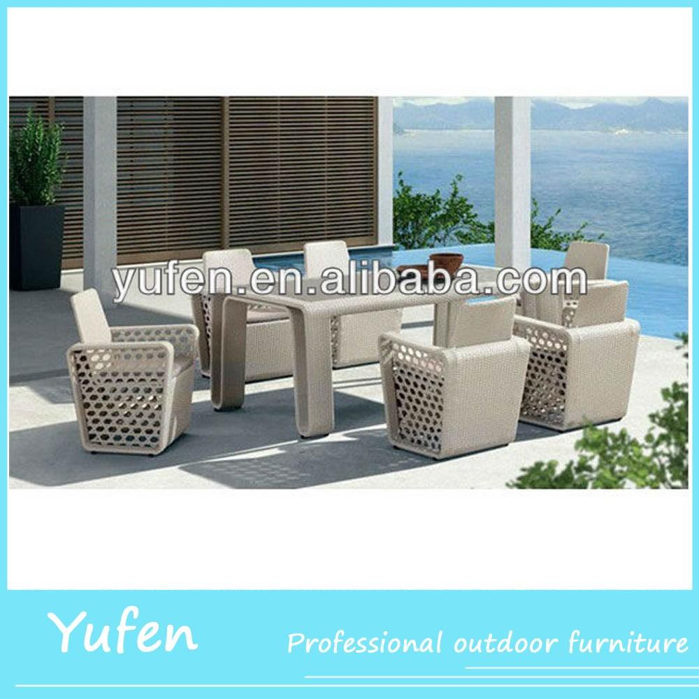 Hedendaagse rotan plastic eettafels en stoelen tafels buiten product id 1146060484 - Hedendaagse eettafels ...