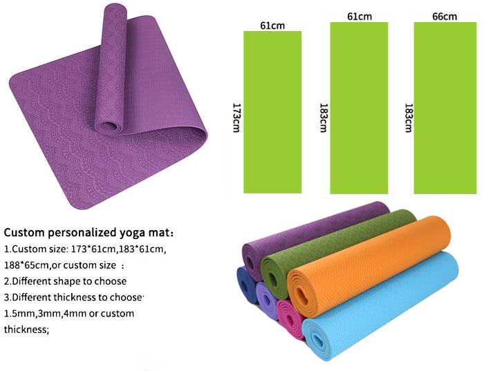 6mm Eco Friendly Reversible Polyurethane Yoga Mat Buy