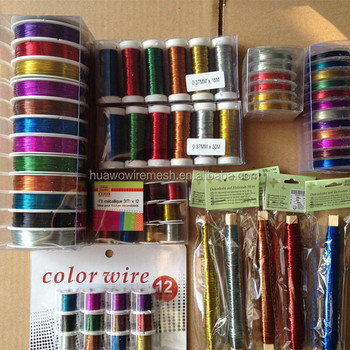 1mm stainless steel colored wire/ painted wire