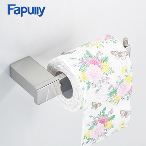 Fapully 304 Stainless Steel Wall Mounted Chrome Plated Paper Toilet Holder