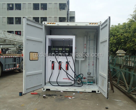 OEM Best Price Qulity 40ft Mobile Fuel Station for Cango, 50m3,40m3,30m3 available