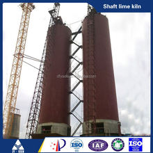coal or coke fired green energy quick lime processing plant/lime production line